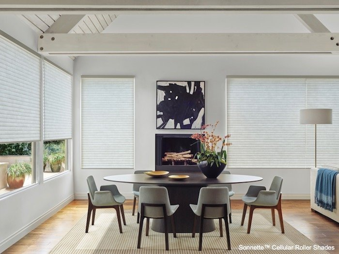 Sonnette Cellular Roller Shades by Hunter Douglas at The Blinds Man